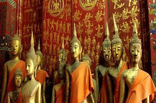 Bouddha durant notre Circuit Laos Express d'une semaine