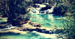 séjour au Laos - kuang si falls